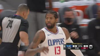 NBA, 37 punti di George in gara-5 vs. Utah