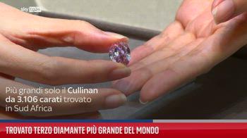 Trovato terzo diamante pi� grande del mondo