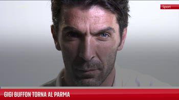 Gigi Buffon torna al Parma