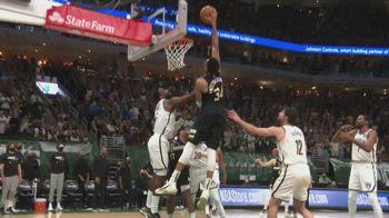 NBA Highlights Milwaukee-Brooklyn Gara-6 104-89 ITA_4641402