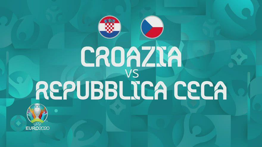 Euro 2020, Croazia-Repubblica Ceca 1-1: video e highlights
