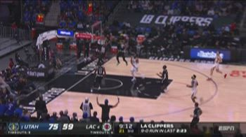 NBA, i 39 punti di Terance Mann in gara-6 contro Utah
