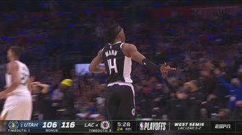 NBA Highlights LA Clippers-Utah Gara-6 131-119_3301037