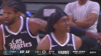 NBA Highlights LA Clippers-Utah Gara-6 131-119 ITA_2153017