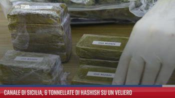 Canale di Sicilia, 6 tonnellate di hashish su un veliero