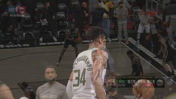 NBA, 40 punti per Giannis Antetokounmpo in gara-7 vs Nets