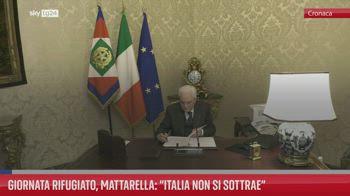 FL Giornata Rifugiato, Mattarella: ?Italia non si sottrae?