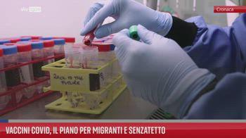 Vaccini Covid, il piano per migranti e senzatetto
