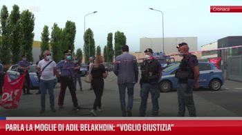 Parla la moglie di Adil Belakhdin: ?Voglio giustizia?