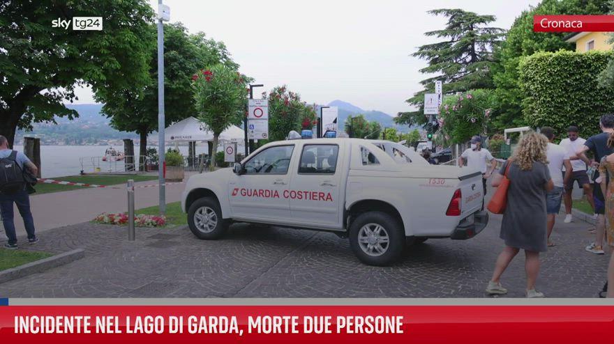 Lago di Garda, incidente in barca: morte due persone