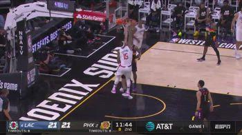 NBA, schiacciata di Cousins in gara-1 vs. Suns