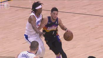 NBA, 40 punti di Booker in gara-1 vs. Clippers