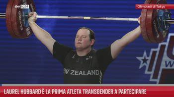 Laurel Hubbard � la prima atleta transgender a partecipare