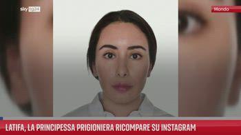 Latifa, la principessa prigioniera ricompare su Instagram