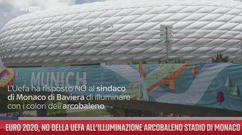 Euro 2020, NO della Uefa all?illuminazione arcobaleno stadio di Monaco