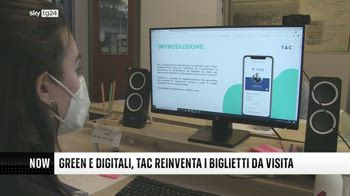 ++NOW Green e digitali, TAC reinventa i biglietti da visita