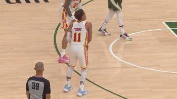 "NBA, Trae Young umilia i Bucks con lo ""shimmy"""