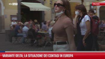 Variante Delta, la situazione dei contagi in Europa