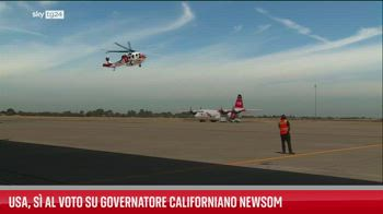 Usa, s� la voto su governatore californiano Newsom