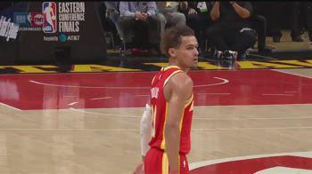NBA, terzo shimmy in tre gare di Trae Young contro i Bucks
