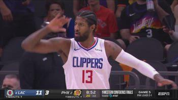 NBA, 41 punti di George vs. Suns in gara-5