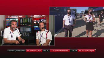 F1 CANALE 207 VANZINI commento su sprint hamilton ore 18.23