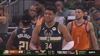 NBA, 50 punti di Antetokounmpo in gara-6