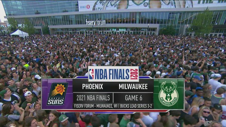 NBA Finals Highlights: Milwaukee-Phoenix gara-6 105-98