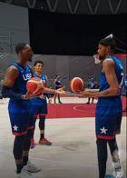 Team USA, Adebayo gli toglie la palla, KD si arrabbia