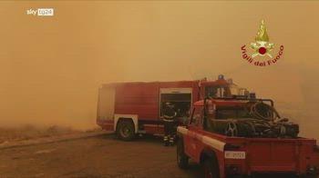 Incendi Sardegna, dichiarato stato d'emergenza