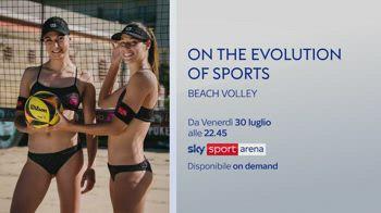 Il beach volley protagonista della nuova puntata di OTEOS