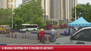 A Wuhan tamponi per 11 milioni di abitanti