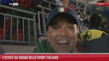 L?estate da sogno dello sport italiano