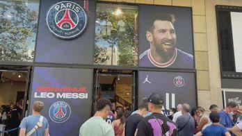 Messi PSG maglie vendute