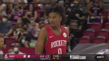 NBA, Jalen Green si mette in mostra con i Rockets