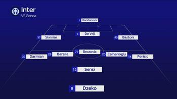 Inter Genoa probabile XI di Inzaghi