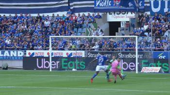 Strasburgo-Troyes 1-1, gol e highlights