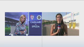Cagliari-Spezia, le formazioni ufficiali