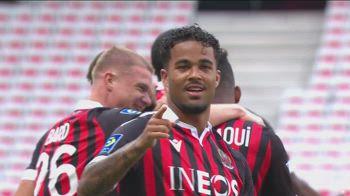 Nizza-Bordeaux 4-0, gol e highlights