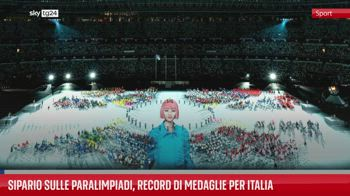 Sipario sulle Paralimpiadi, record di medaglie per Italia