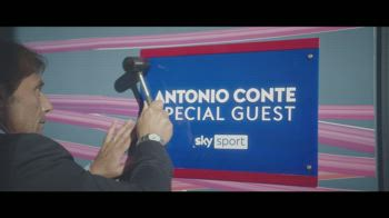 Antonio Conte special guest per la Champions: il promo