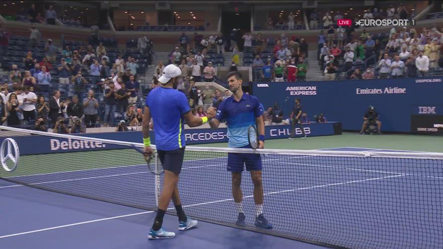 US Open: Djokovic elimina Berrettini, adesso Zverev