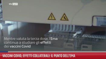 Vaccini Covid, effetti collaterali: il punto dell'Ema