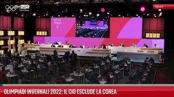 Olimpiadi invernali 2022: il Cio esclude la Corea
