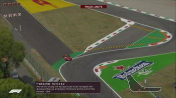 f1 canale 207 track limits ore 14.39