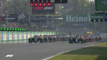 f1 primo giro sprint race canale 207 ore 16.30