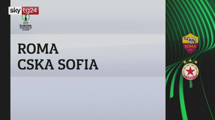 Conference League, Roma-Cska Sofia 5-1: video e highlights