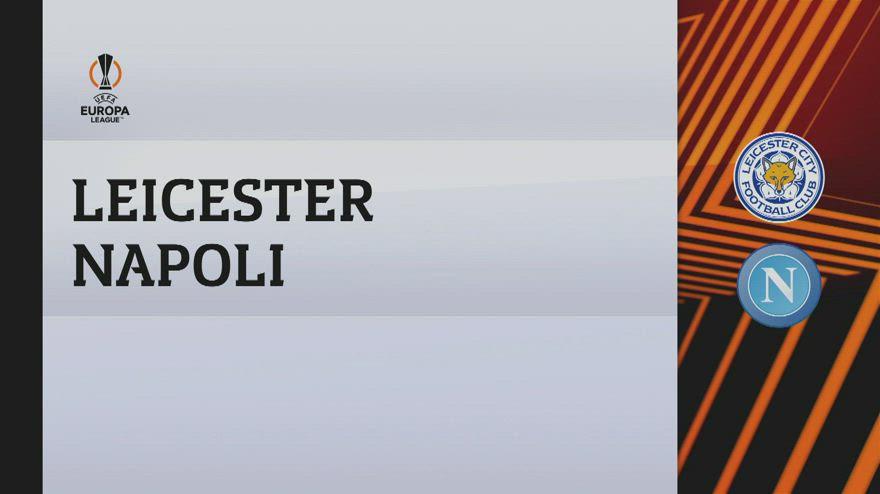 Leicester-Napoli 2-2: gol e highlights
