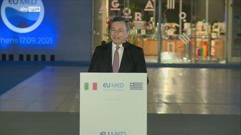 """Draghi: """"Non c'� tempo, serve determinazione"""""""