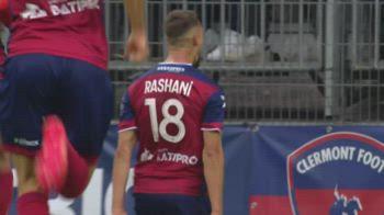 Clermont-Brest 1-1, gol e highlights
